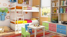 Çocuk Ve Genç Odaları İçin Alternatif Bakış
