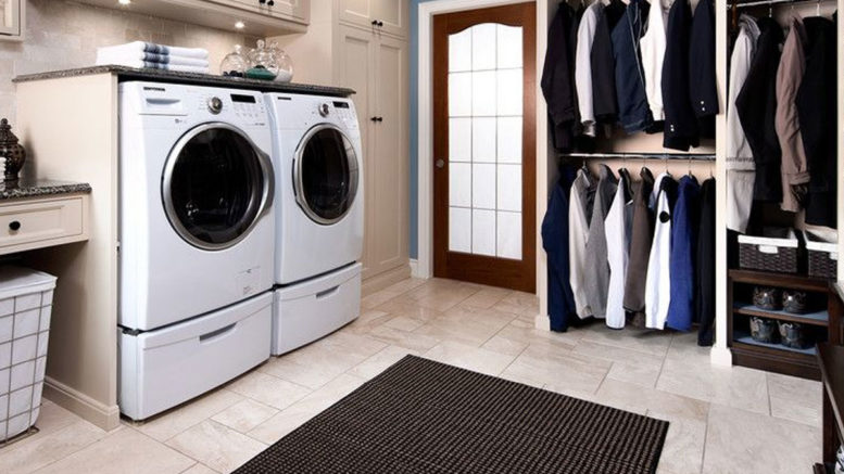 Küçük Alanı Yenilemek için Çamaşır Odası Fikirleri
